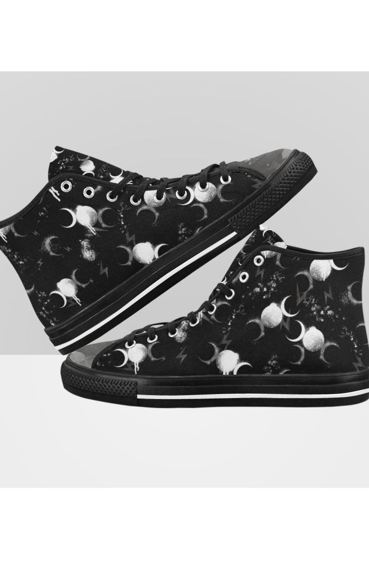 Triple Moon Hi Tops