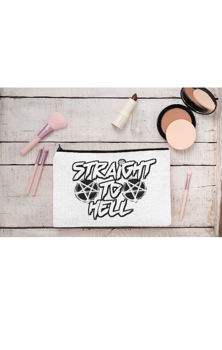 Straight To Hell Make Up Bag