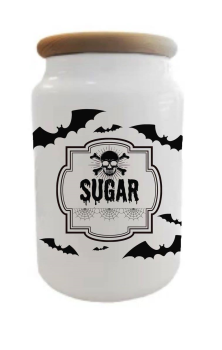 Batty Sugar Jar