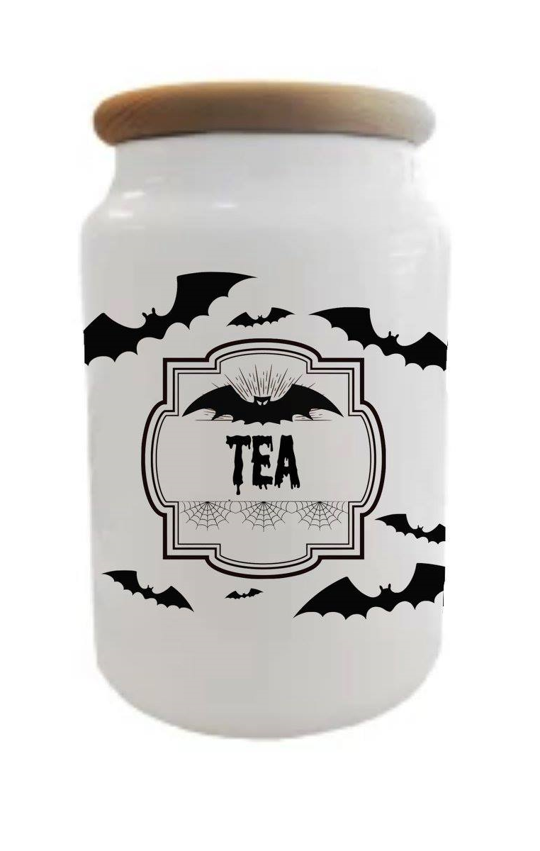 Batty Tea Jar