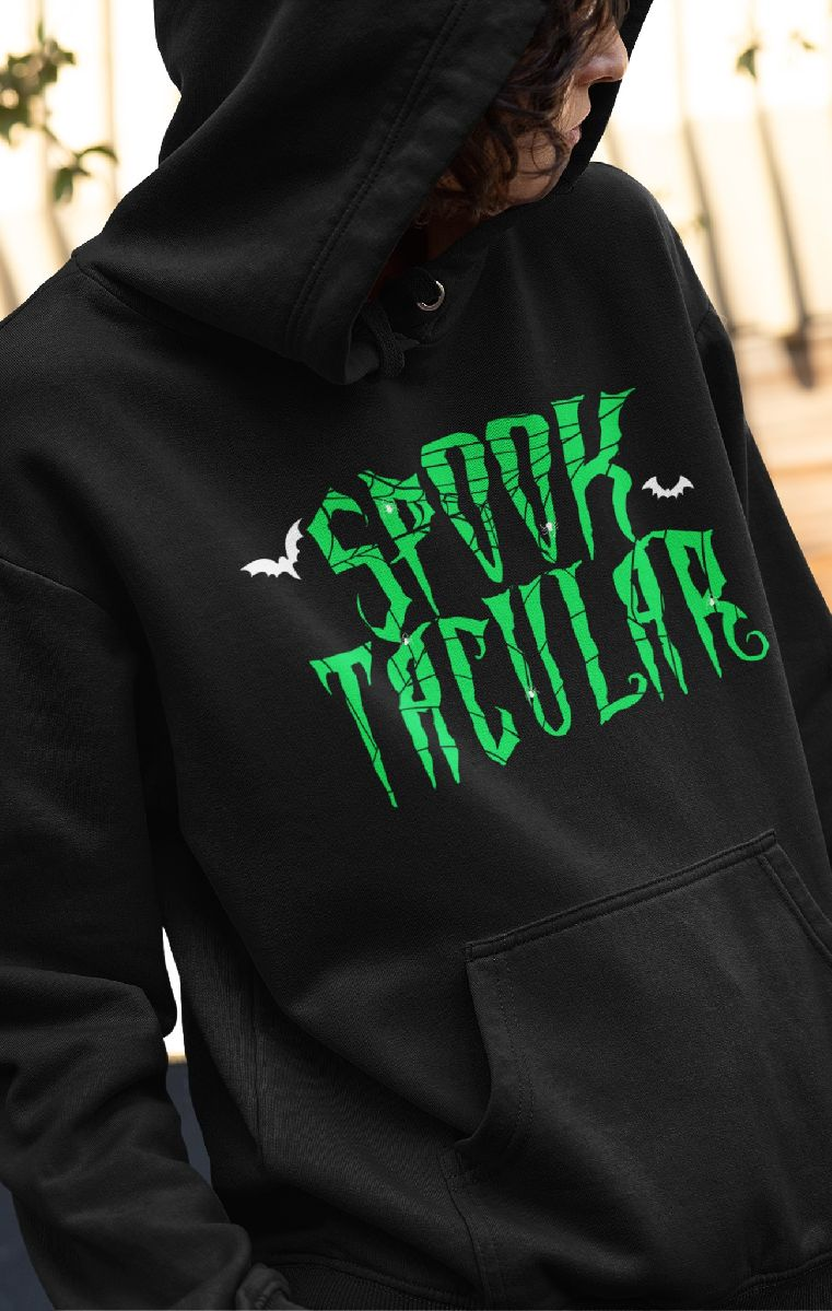 Spooktacular Hood Green