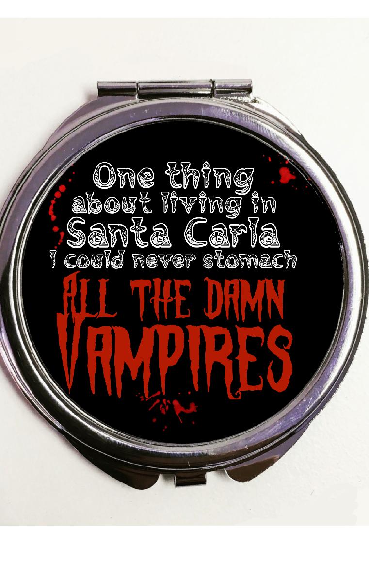 Damn Vampires Pocket Mirror