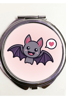 Cute Bat Pocket Mirror