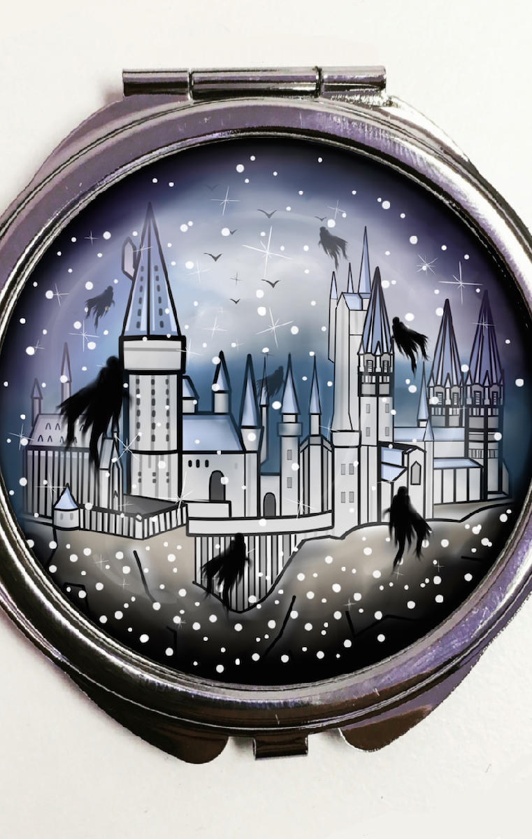 Hogwarts Pocket Mirror