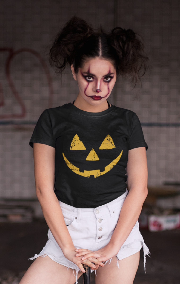 Pumpkin Face T Shirt