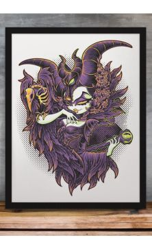 Malevolent Gaze Print