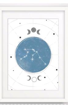 Constellation A Print