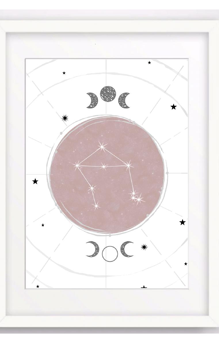 Constellation B Print