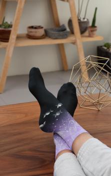 Crystal Moon Socks