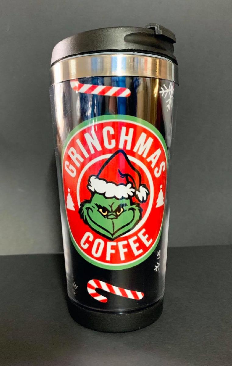 Grinchmas Coffee Travel Mug