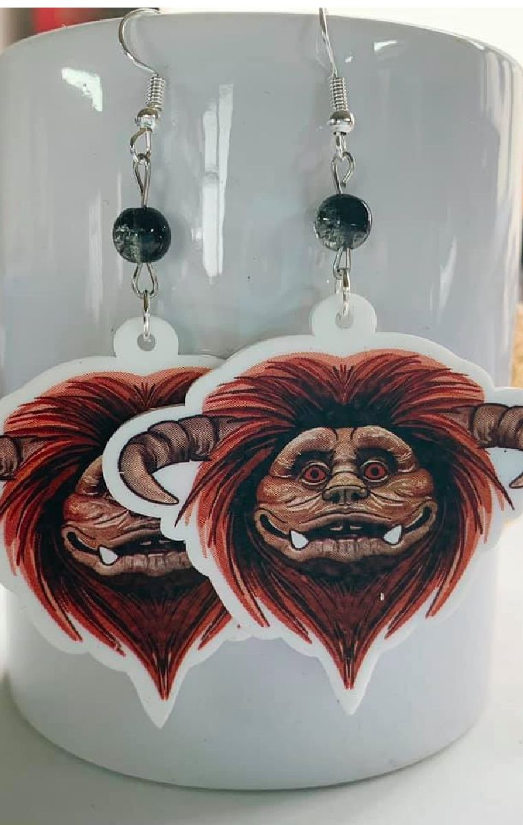 Ludo Earrings - Labyrinth Inspired