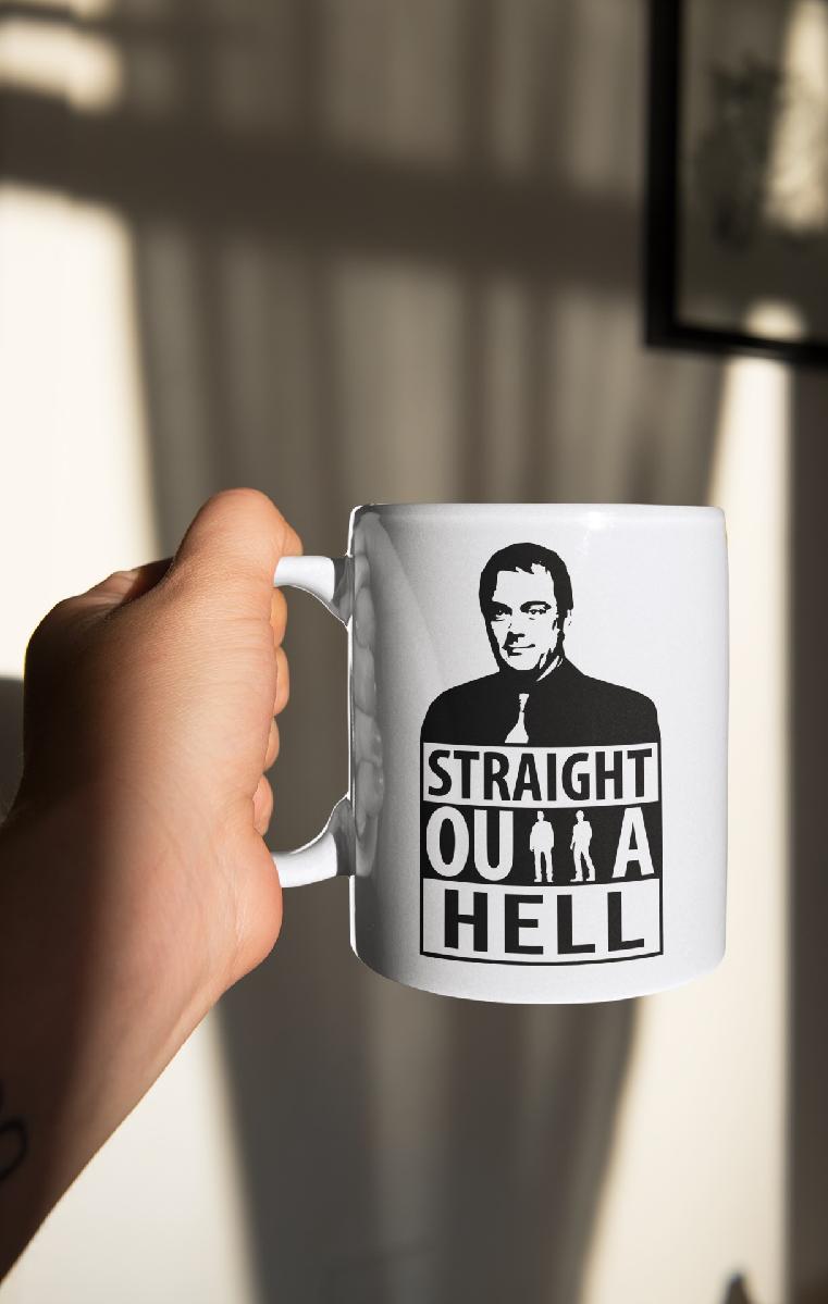 Straight Outta Hell Ceramic Mug