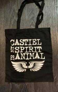 Castiel Is My Spirit Animal Tote Bag