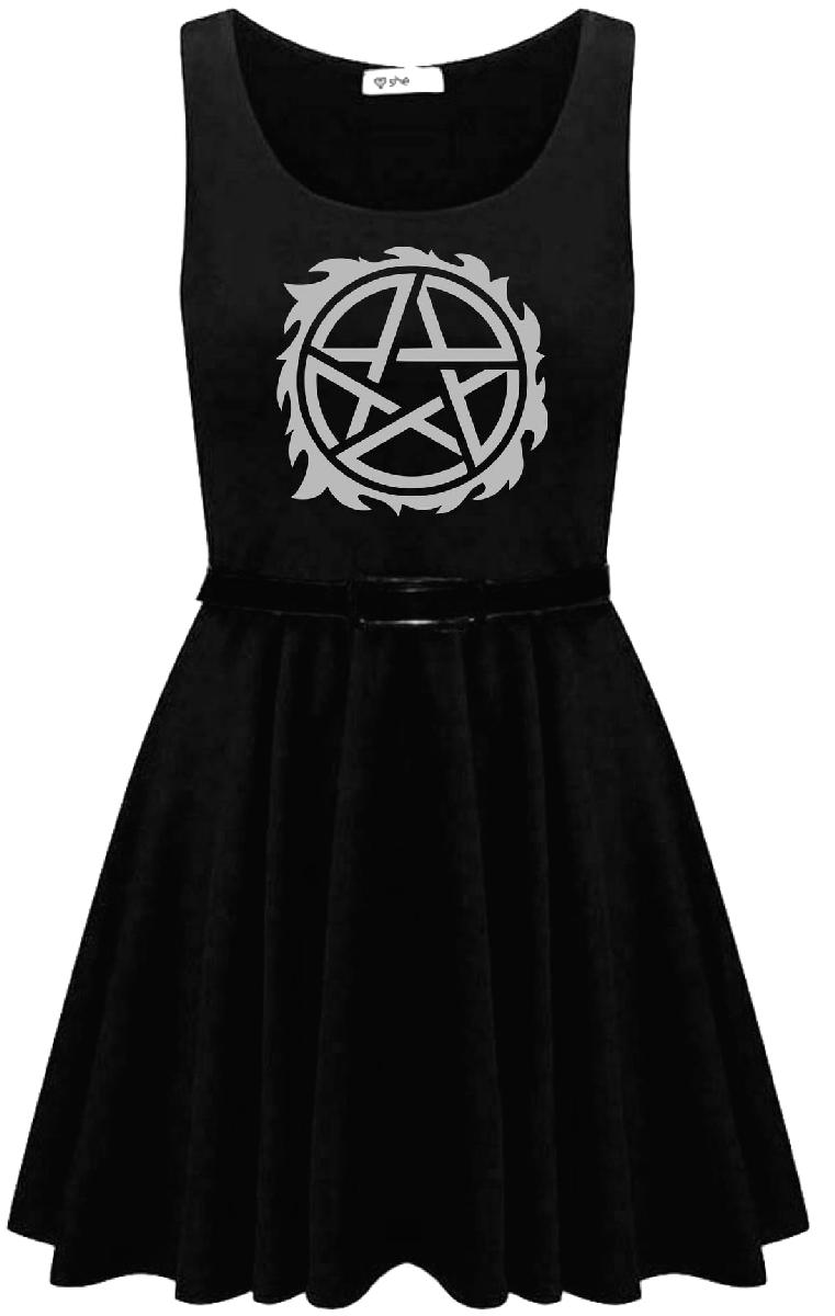 Possession Skater Dress