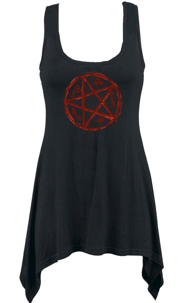 Devils Trap Vest Dress