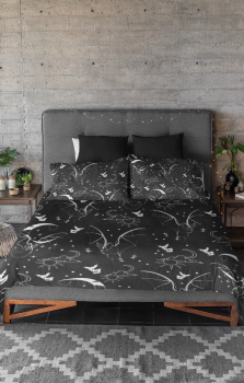 I Am The Night Duvet And Pillow Case