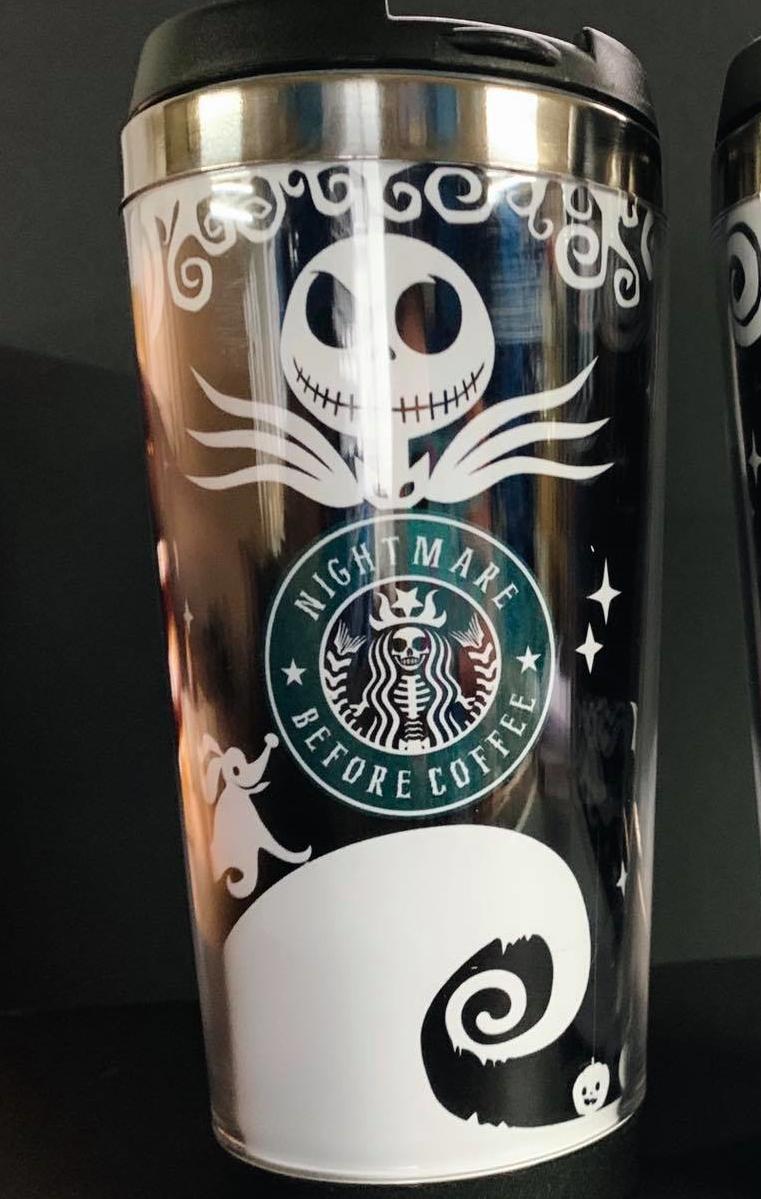 Nightmare Before Coffee/Tea Travel Mug