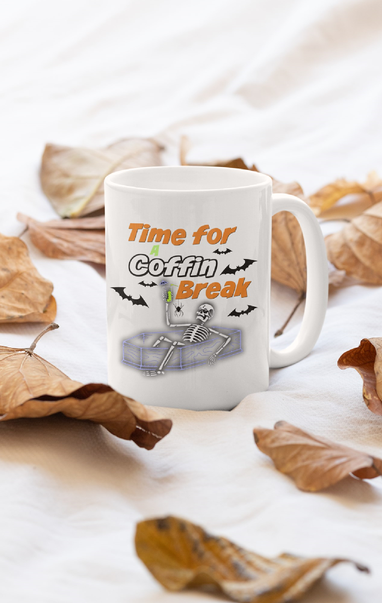 Coffin Break Ceramic Mug