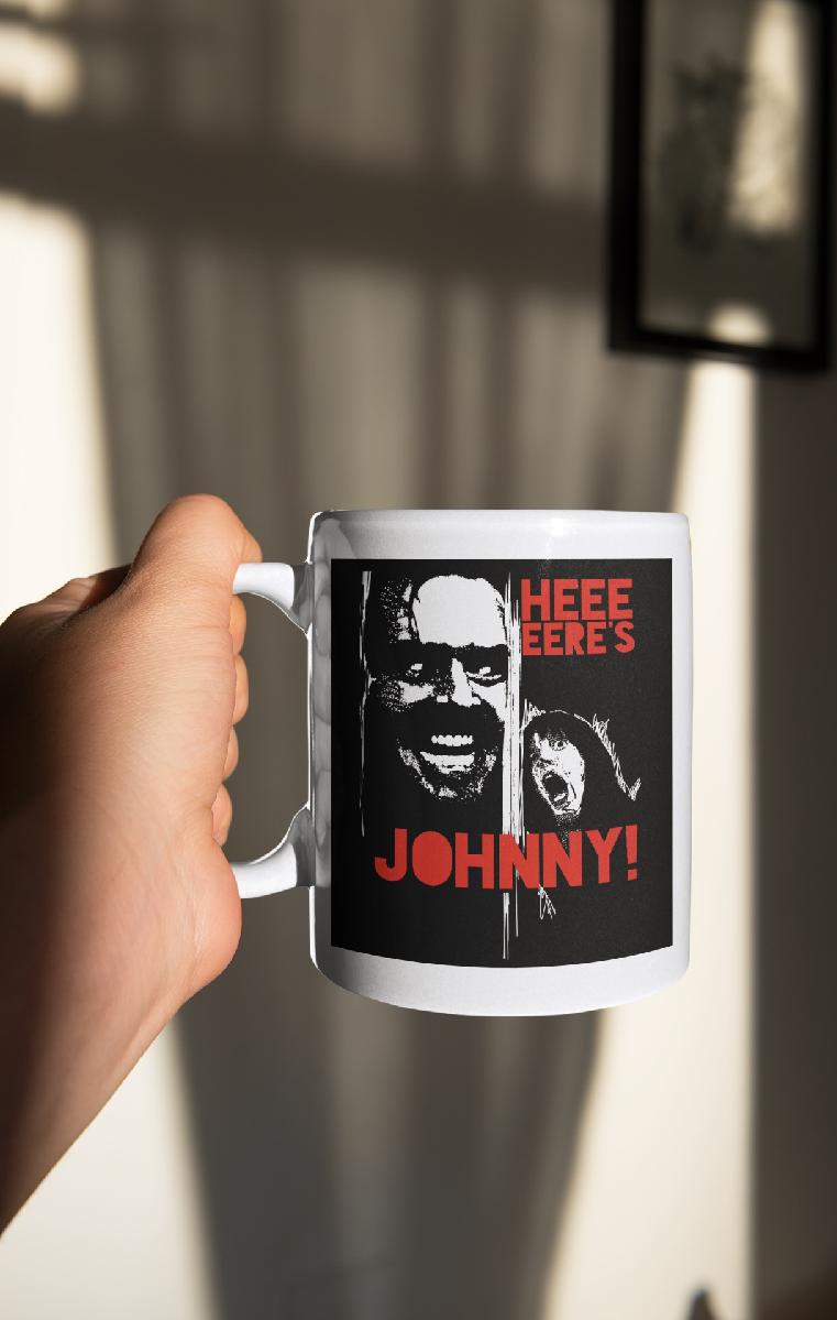 Here's Johnny Ceramic Mug