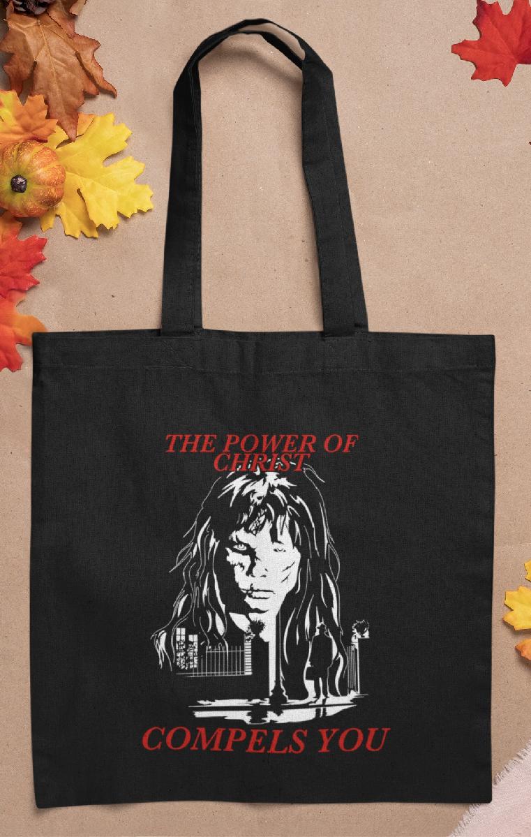 Power Of Christ Tote Bag