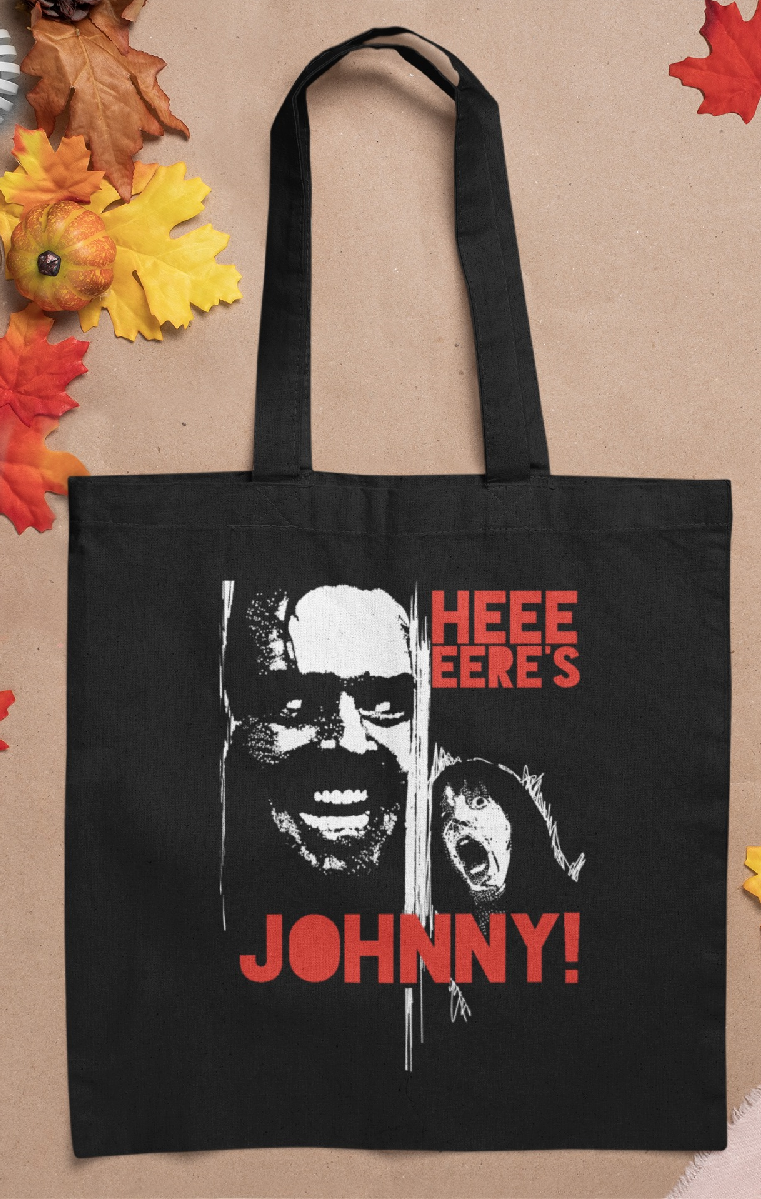 Here's Johnny Tote Bag
