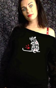 Crazy Rat Lady Sweatshirt