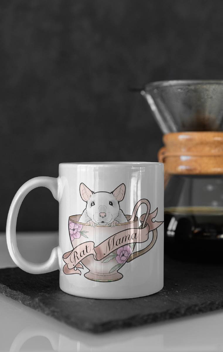 Rat Mama Ceramic Mug