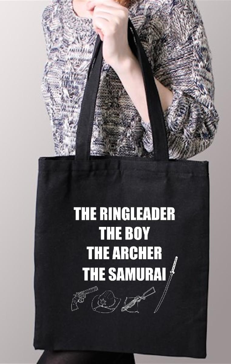 The Walking Dead Black Tote Bag