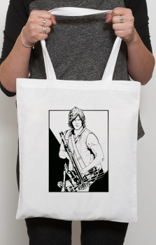 The Walking Dead White Tote Bag