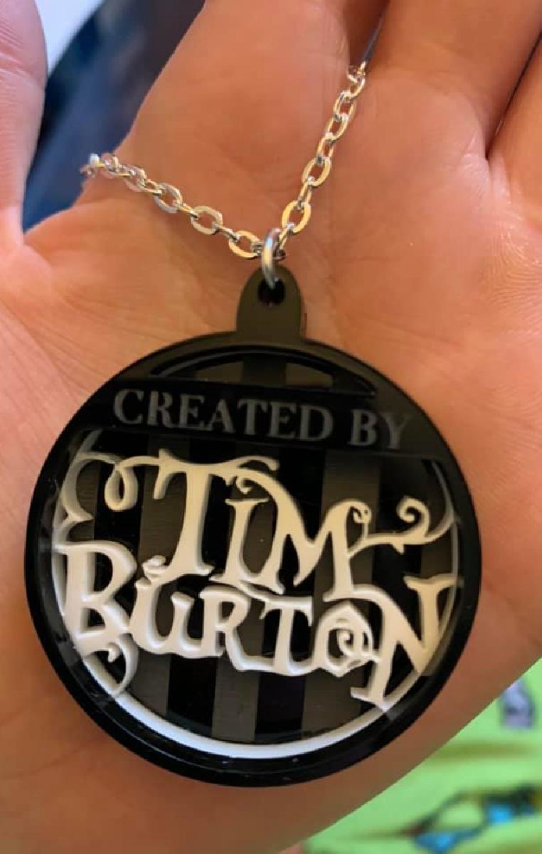 Tim Burton Layered Necklace