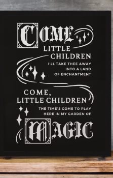Come Little Children Print