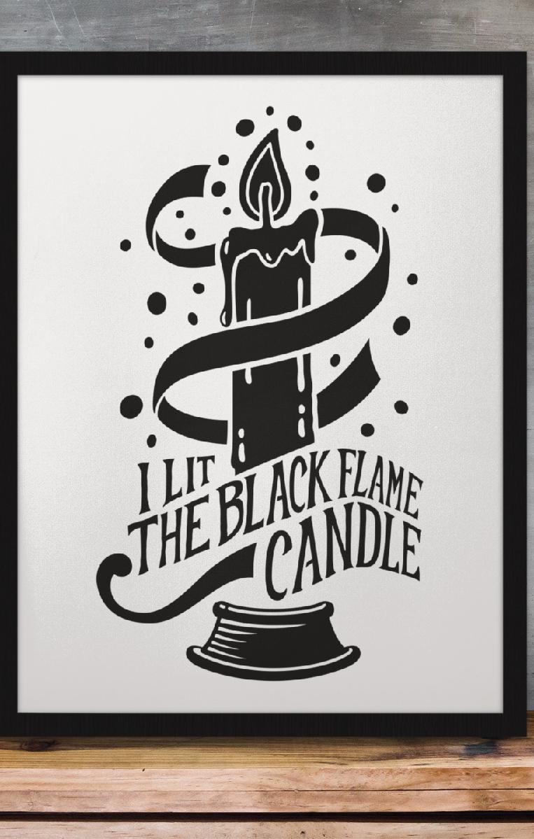 Lit The Flame Print