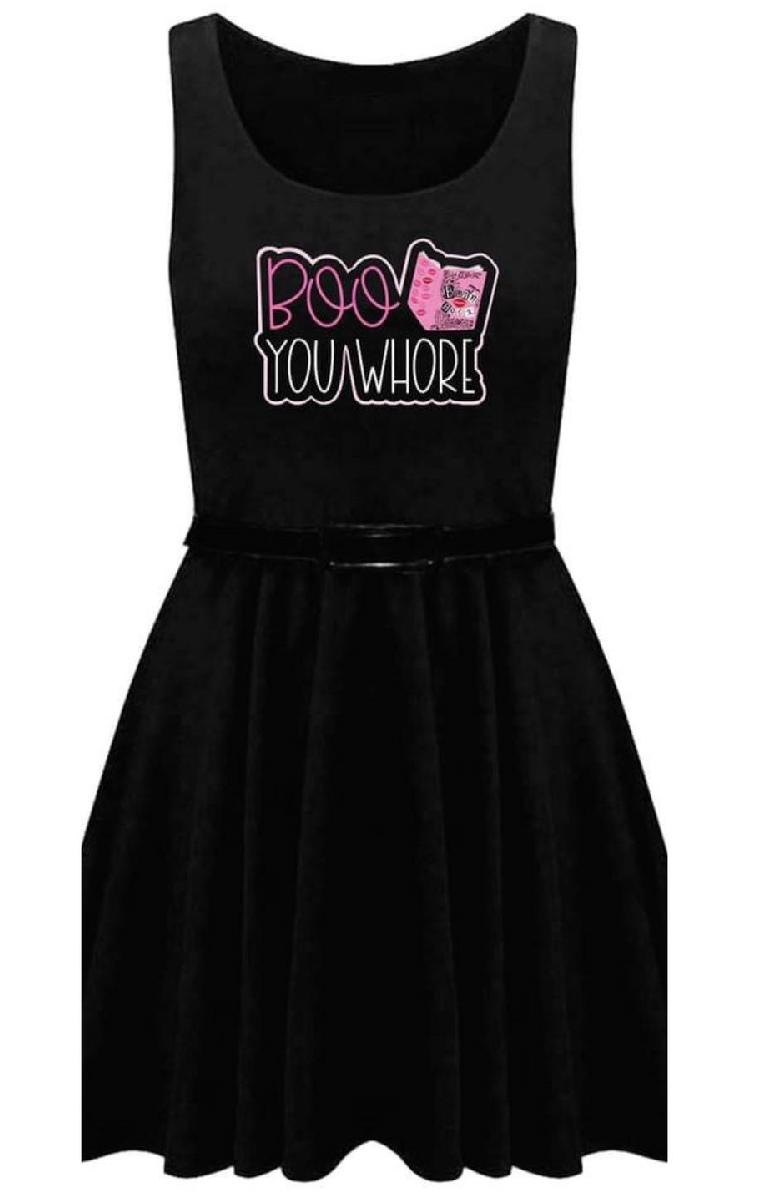 Boo You Whore Skater Dress