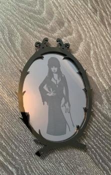 Elvira Icon Mirror Art