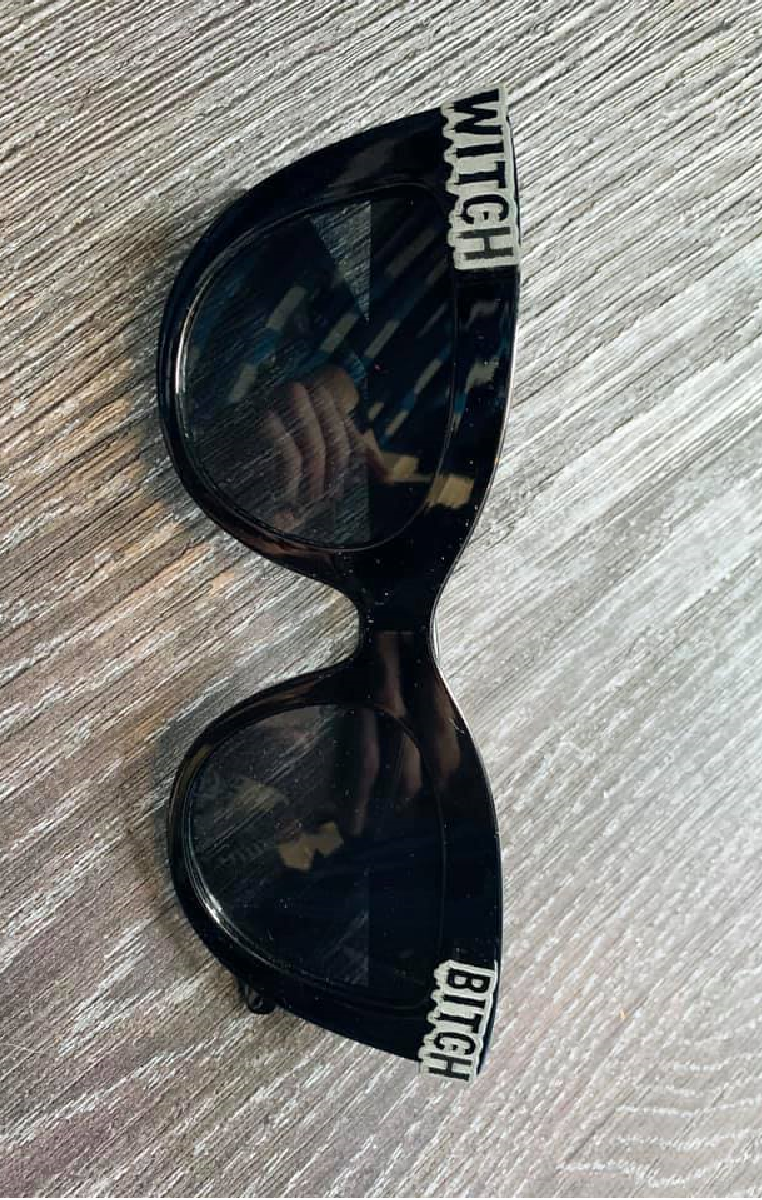 Witch Bitch Cat Eye Sunglasses