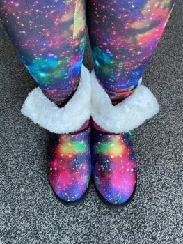 Cosmic Rainbow Snow Boots