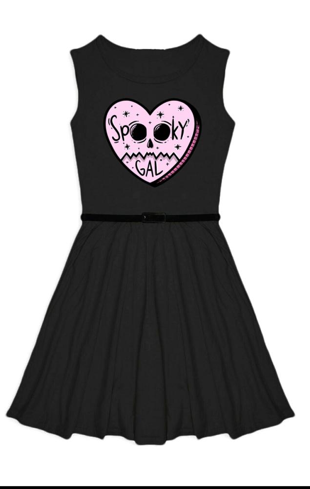 Spooky Gal Kids Dress