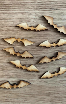 Wooden Bats - Pack Of 3