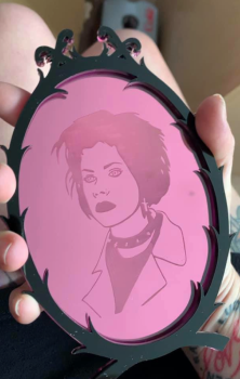 Nancy  Icon Mirror Art