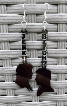 Bitch Jerk Supernatural Earrings