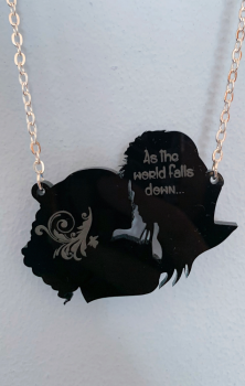 As The World Falls Down Necklace Labyrinth
