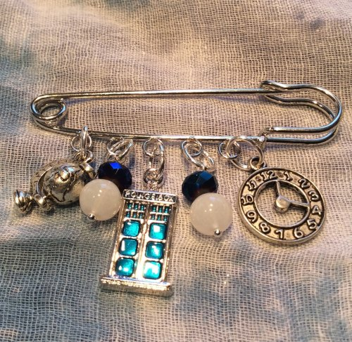 Dr Who Kilt Pin Time Lord Brooch