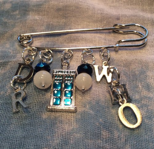 Dr Who Kilt Pin The Doctor Brooch
