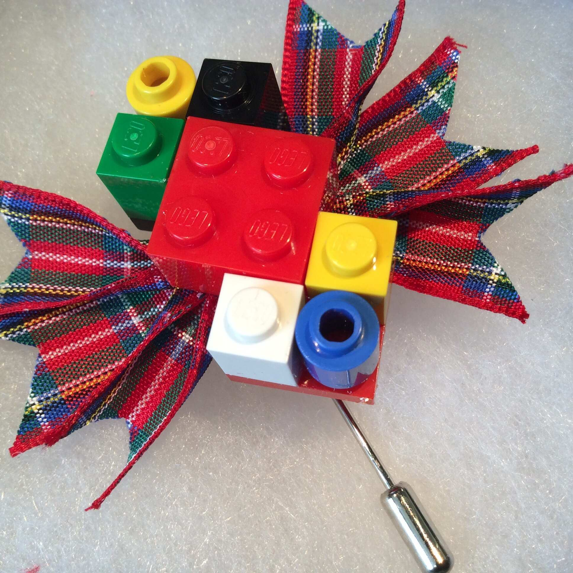 lego tartan buttonhole