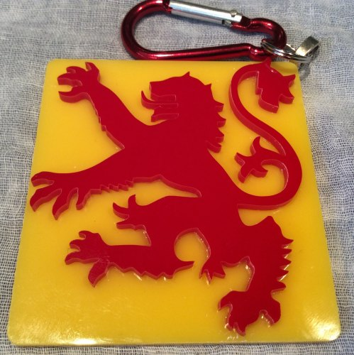Lion Rampant of Scotland Bag Charm Fridge Magnet
