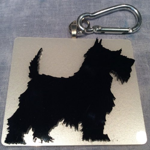 Scottie Dog Bag Charm Fridge Magnet