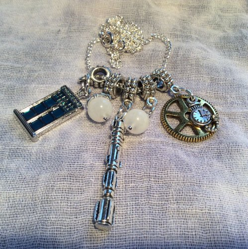 Dr Who Necklace Tardis Sonic Screwdriver