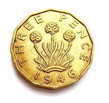 Threepence Cufflinks 1946 Coins