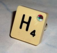 Scrabble Letter Jewellery Using Vintage Tiles