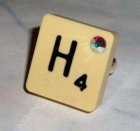 Scrabble Letter Jewellery Using Vintage Tiles